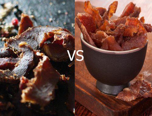 Biltong vs Beef Jerky: le combat d'une vie(ctuaille)