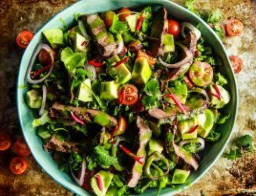 La salade de biltong sucrée-salée pour préparer l'été